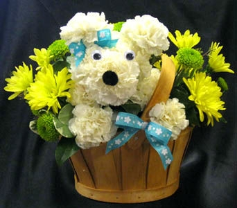 Cutest Puppy Bouquet in Kennewick WA, Heritage Home Accents & Floral