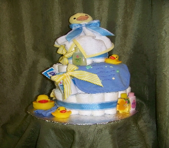 Bath Time Ducky Cake in Crown Point IN, Debbie's Designs