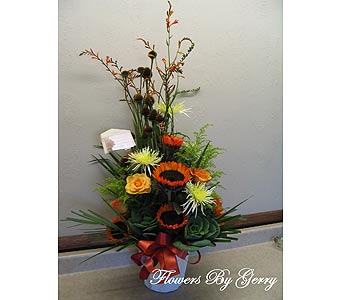 Indian Summer in Brentwood CA, Flowers By Gerry