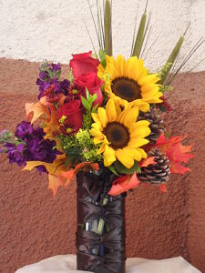 Autumn Sunrise in Henderson NV, Beautiful Bouquet Florist