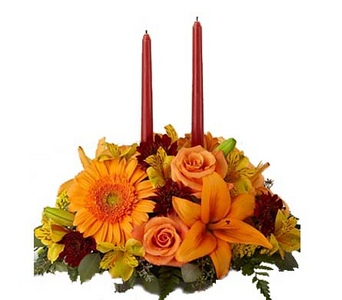 Jory''s Flowers Bright Autumn� Centerpiece in Concord CA, Jory's Flowers