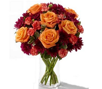 The FTD� Autumn Treasures� Bouquet in Concord CA, Jory's Flowers