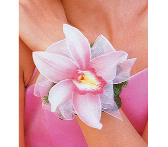 Pink Orchid Wristlet in Palm Springs CA, Palm Springs Florist, Inc.
