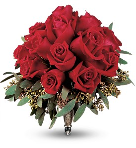 Velvet Red Roses Nosegay in Bend OR, All Occasion Flowers & Gifts