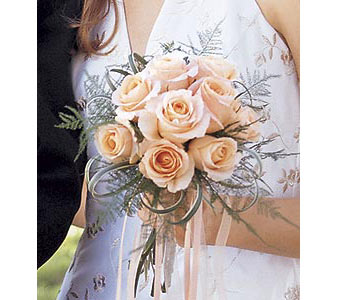 Peach Promise Bouquet in Palm Springs CA, Palm Springs Florist, Inc.