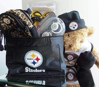 Baby Steeler Basket in McKees Rocks PA, The Flowersmith