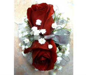 Red Rose Corsage in Warren MI, Downing's Flowers & Gifts Inc.