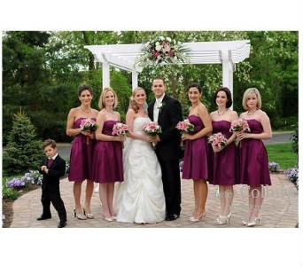 Stargazers & white roses Bridal Party in Freehold NJ, Especially For You Florist & Gift Shop