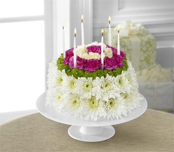 Wonderful Wishes Floral Cake in Baltimore MD, Raimondi's Flowers & Fruit Baskets