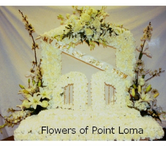 Gate of Heaven in San Diego CA, Flowers Of Point Loma