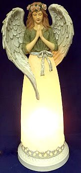Tall Lighted Angel in Indianapolis IN, Madison Avenue Flower Shop