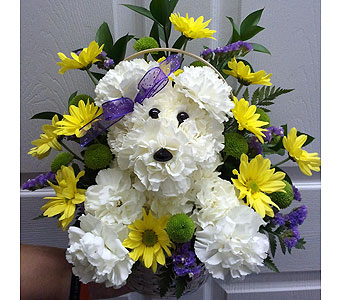Puppy Love Bouquet in Oxford MI, A & A Flowers