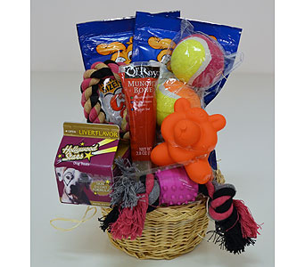 Doggie Gift Basket in Indianapolis IN, Gillespie Florists