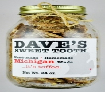 Dave's Sweet Tooth Toffee - Milk Chocolate in Detroit and St. Clair Shores MI, Conner Park Florist