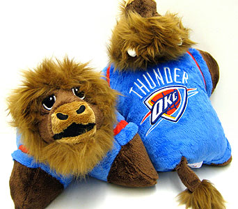 ''Rumble'' OKC Thunder Pillow Pet in Oklahoma City OK, Array of Flowers & Gifts