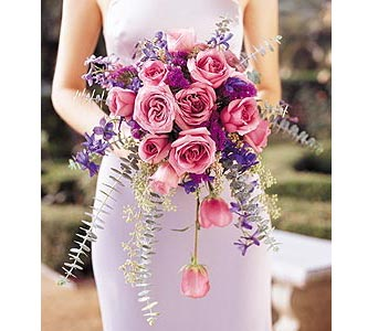 Cascading Lavender Roses Bouquet in Bend OR, All Occasion Flowers & Gifts