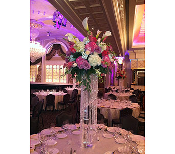 Crystal Centerpiece in Staten Island NY, Sam Gregorio's Florist