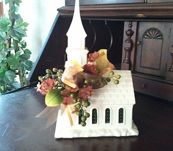 Chapel with Lights in Chattanooga TN, Chattanooga Florist 877-698-3303