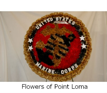 Marine Corps in San Diego CA, Flowers Of Point Loma