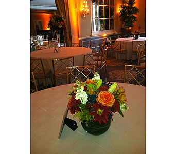Fall Centerpiece in Staten Island NY, Sam Gregorio's Florist