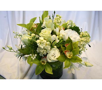 Just White 15 in Victoria BC, Fine Floral Designs