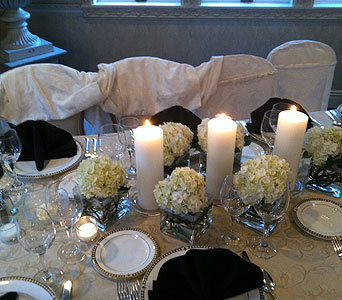 Candle Centerpiece in Staten Island NY, Sam Gregorio's Florist