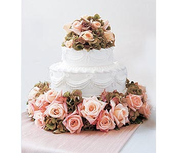 Sweet Visions Wedding Cake Decoration in Spokane WA, Beau K Florist