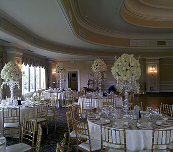 Room Shot Centerpieces in Staten Island NY, Sam Gregorio's Florist