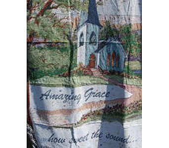Amazing Grace Throw in Mayfield Heights OH, Mayfield Floral