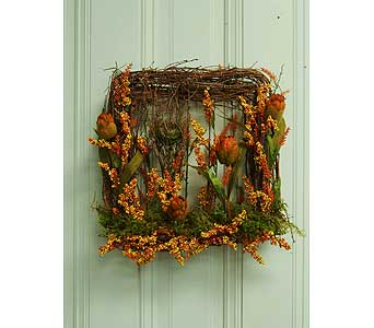 Square Wreath in Crafton PA, Sisters Floral Designs