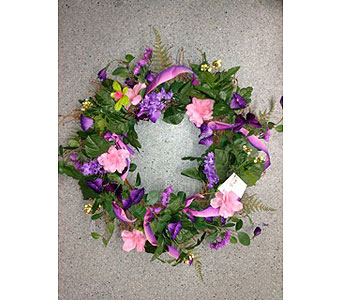 MAgic Moments Wreath in Oakland CA, J. Miller Flowers and Gifts