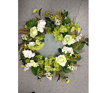 Walnut creek River Wreath in Oakland CA, J. Miller Flowers and Gifts