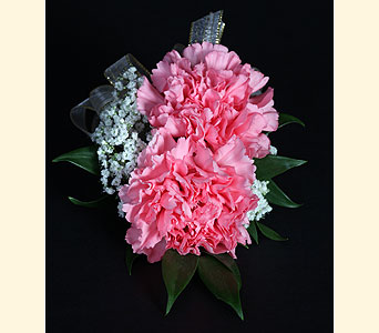 Corsage 2 Carnations in Southampton PA, Domenic Graziano Flowers