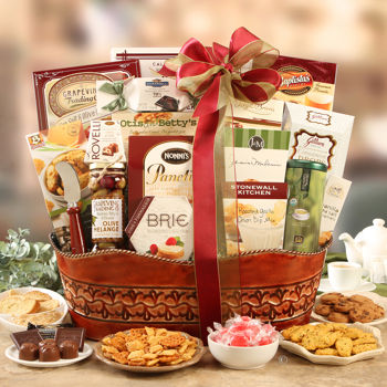 Gourmet Sweets and Meats Basket in Meridian ID, Meridian Floral & Gifts