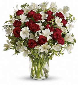 Endless Romance Bouquet in Bluffton IN, Posy Pot