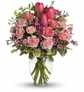 Full Of Love Bouquet in Canton NC, Polly's Florist & Gifts