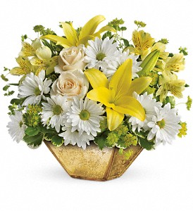 Garden Reflections Centerpiece by Teleflora in Eugene OR, Rhythm & Blooms