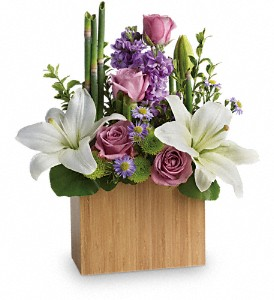 Kissed With Bliss by Teleflora in Lancaster OH, Flowers of the Good Earth