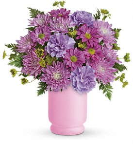 Poetry In Purple Bouquet by Teleflora in Bismarck ND, Dutch Mill Florist, Inc.