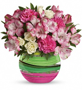 Spring Artistry Bouquet by Teleflora in North Olmsted OH, Kathy Wilhelmy Flowers