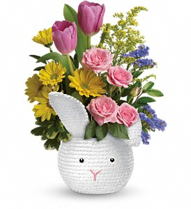 Teleflora's Cuddle Bunny Bouquet in Manassas VA, Flower Gallery Of Virginia
