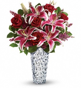 Teleflora's Diamonds And Lilies Bouquet in Lake Worth FL, Flower Jungle of Lake Worth