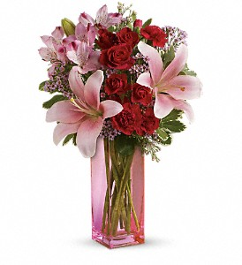 Teleflora's Hold Me Close Bouquet in Bluffton IN, Posy Pot