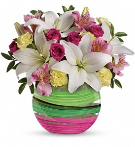 Teleflora's Paint It Pastel Bouquet in Redwood City CA, Redwood City Florist