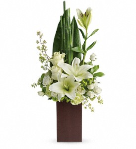 Teleflora's Peace And Harmony Bouquet in Vevay IN, Edelweiss Floral