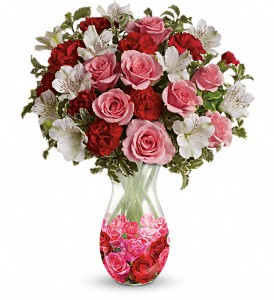 Teleflora's Rosy Posy Bouquet in Bluffton SC, Old Bluffton Flowers And Gifts