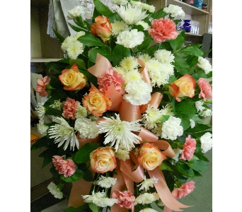 Pastel Standing Spray in Nashville TN, Emma's Flowers & Gifts, Inc.