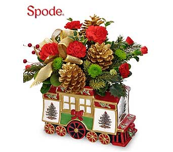 Spode Holiday Express in Port St Lucie FL, Flowers By Susan