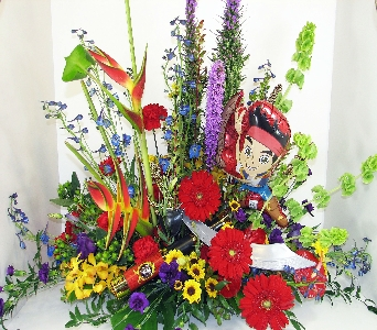 Huddart Jack the Pirate Arrangement in Salt Lake City UT, Huddart Floral