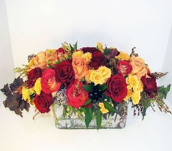 Huddart Autumn Rose Bouquet in Salt Lake City UT, Huddart Floral